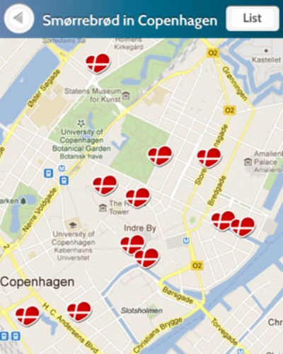 The new 'Smørrebrød in Copenhagen' app guides you to the best 'smørrebrød' restaurants in Copenhagen, and tells you everything you need to know about the only truly unique Danish contribution to world gastronomy.
